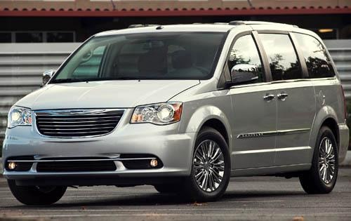 2012 Chrysler Town and Co exterior #1