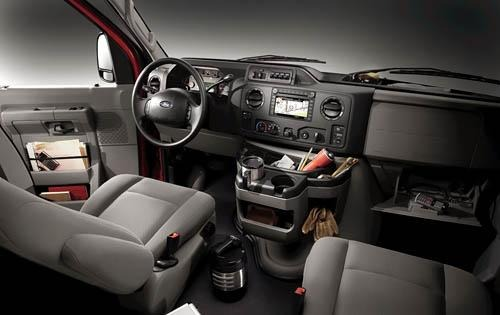 2012 Ford E-Series Van Ce interior #5