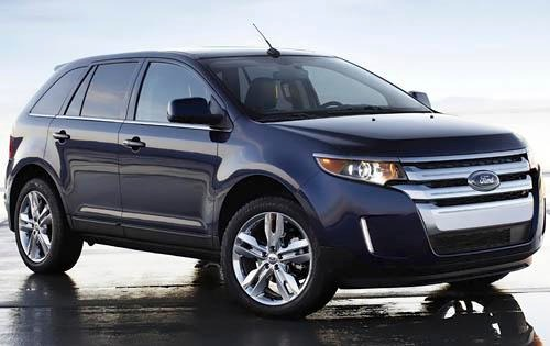 2012 Ford Edge Instrument interior #2