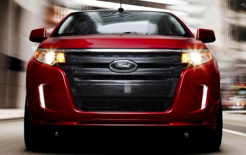 2012 Ford Edge Instrument interior #5
