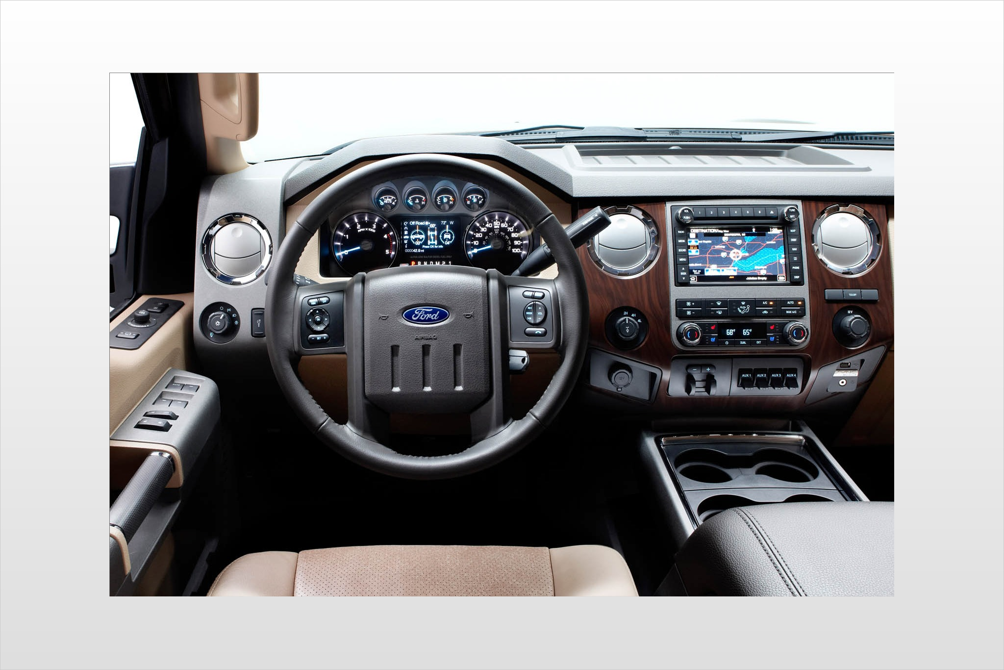 2012 Ford F-450 Super Dut interior #4