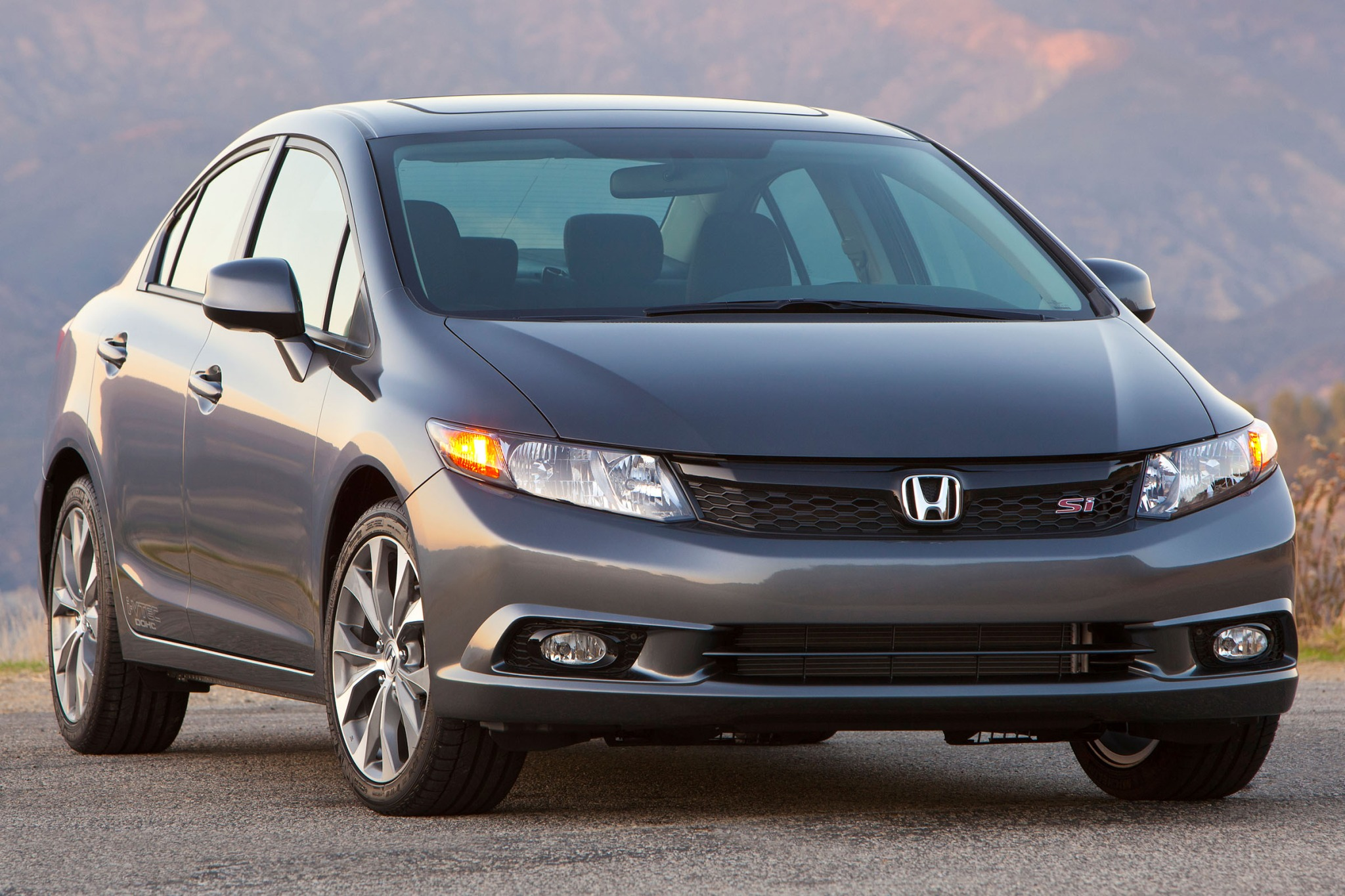 2012 Honda Civic Si Coupe exterior #9