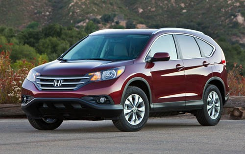 2012 Honda CR-V Headlamp  exterior #8