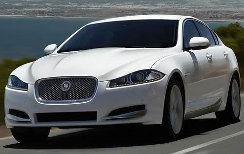 2012 Jaguar XF XFR Sedan  interior #6