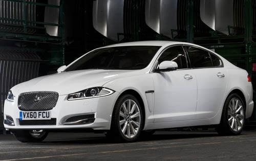 2012 Jaguar XF XFR Sedan  interior #7