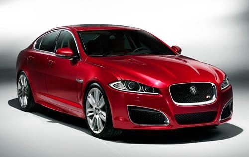 2012 Jaguar XF XFR Sedan  interior #4