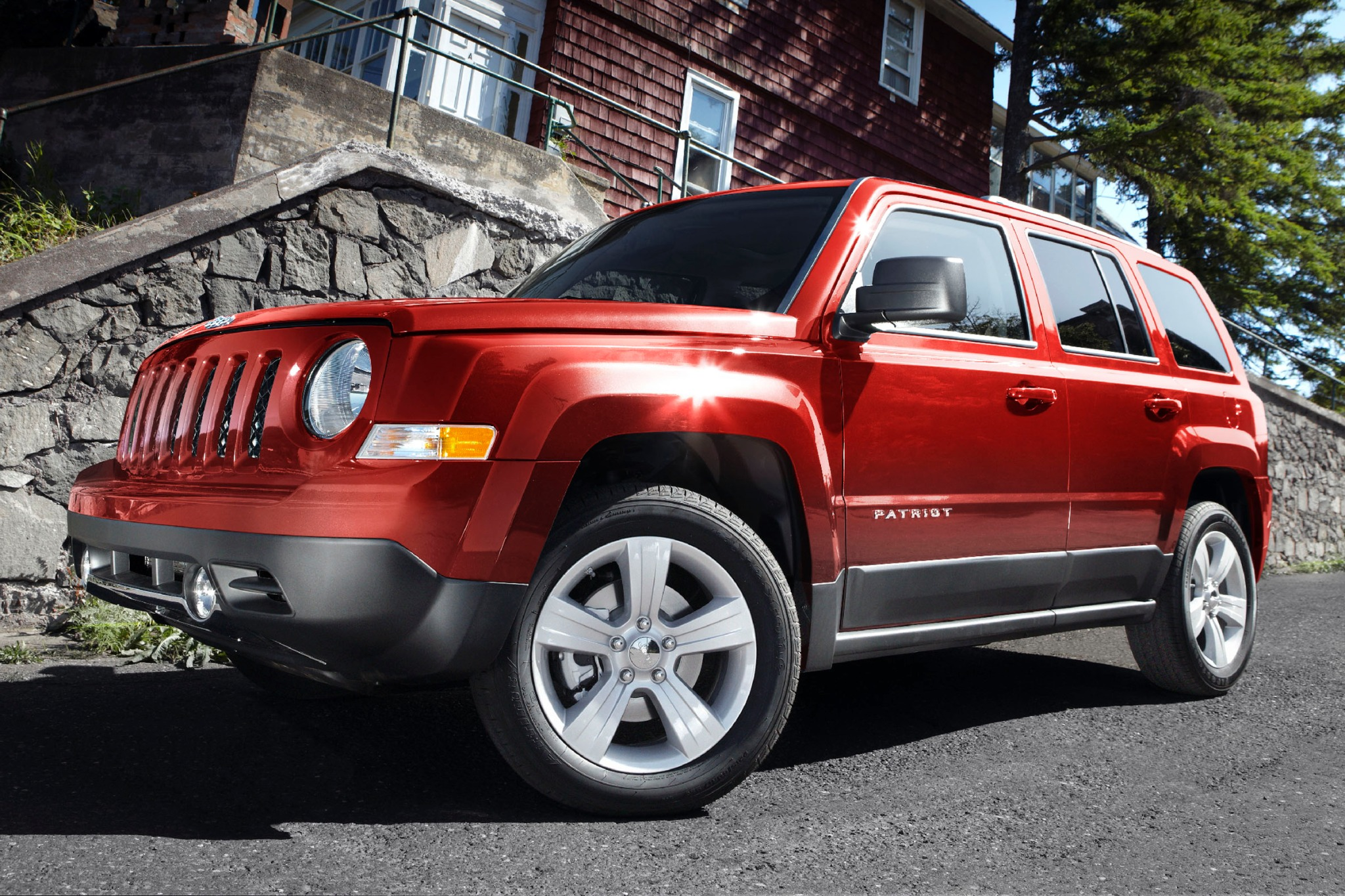 2012 Jeep Patriot Latitud interior #1