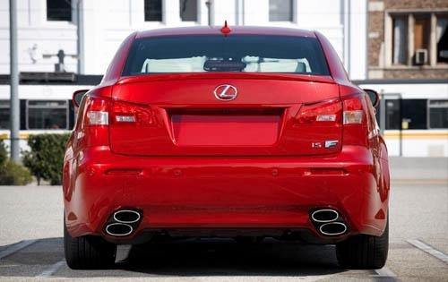 2012 Lexus IS F Tail Lamp exterior #6