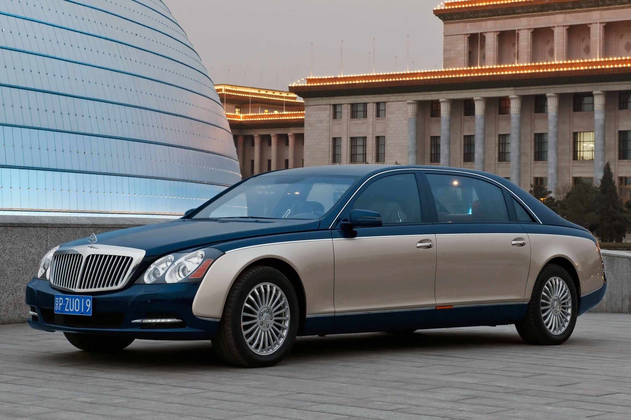 2012 Maybach 62 Sedan Rea interior #1