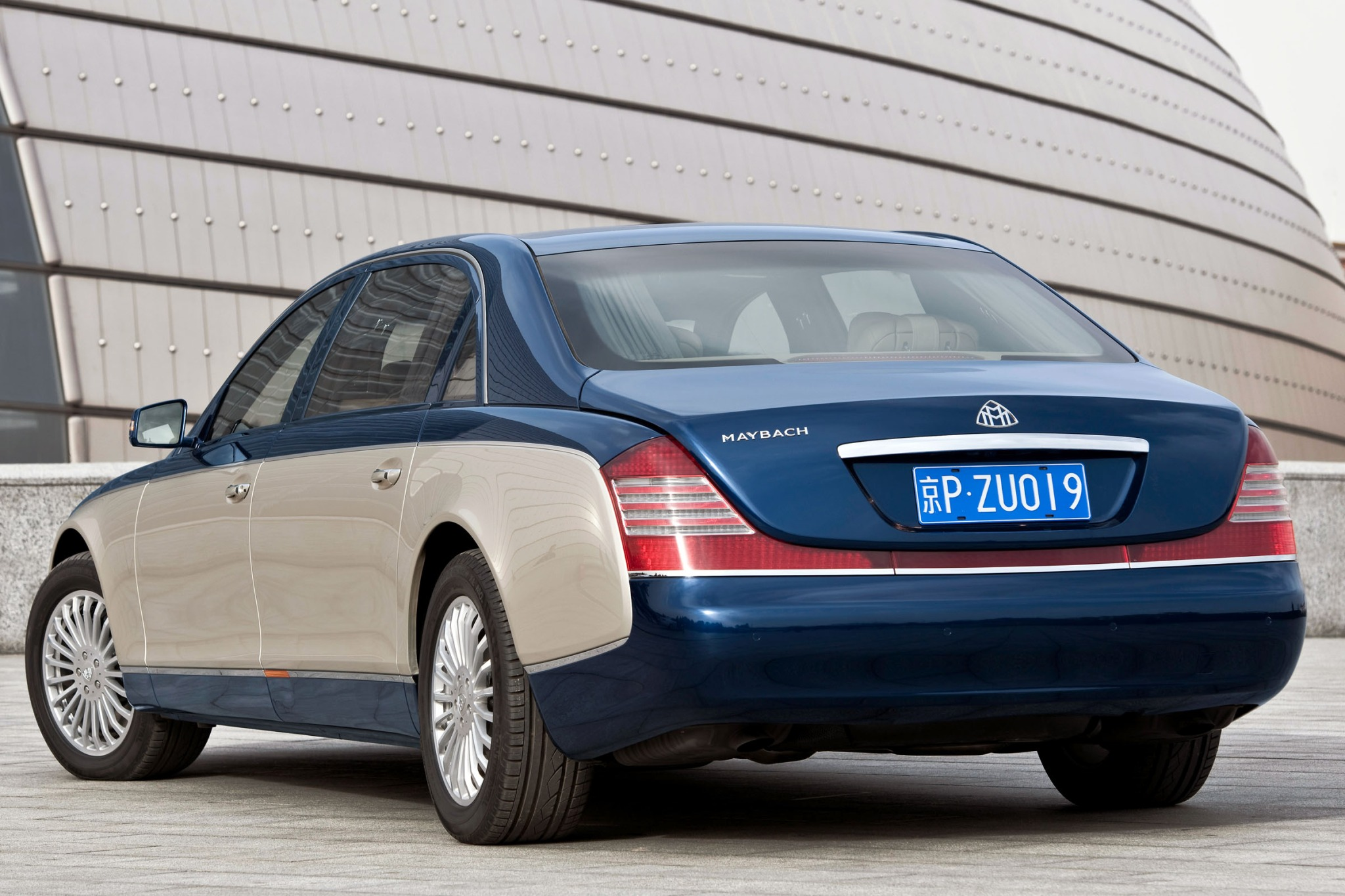 2012 Maybach 62 Sedan Rea interior #4