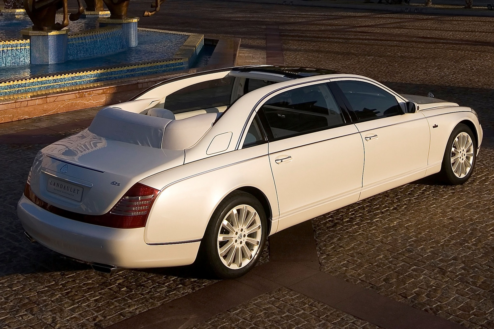 2012 Maybach Landaulet Co exterior #7