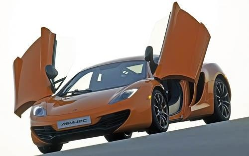 2012 McLaren MP4-12C Cent interior #2
