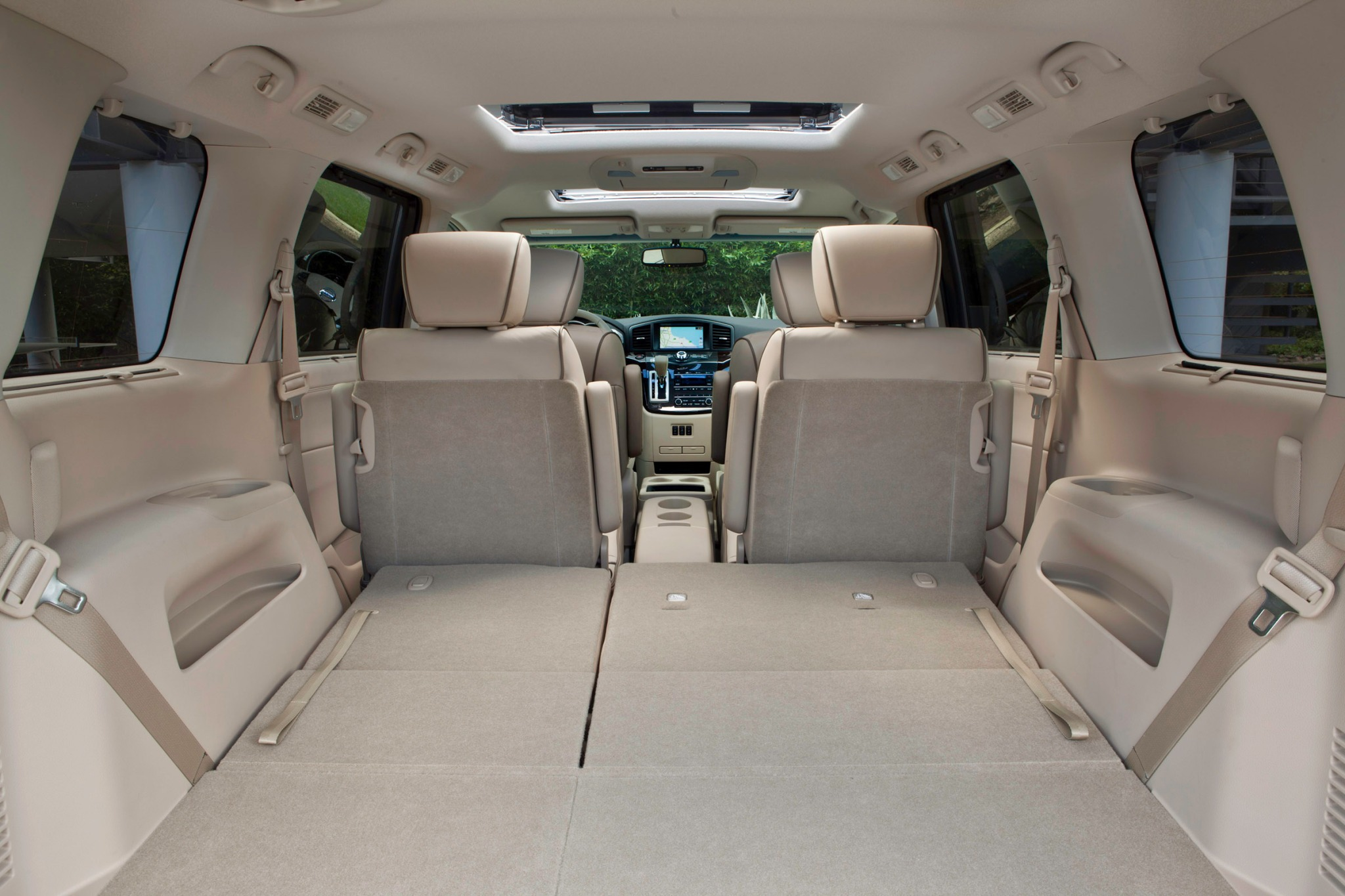 2012 Nissan Quest LE Pass interior #9