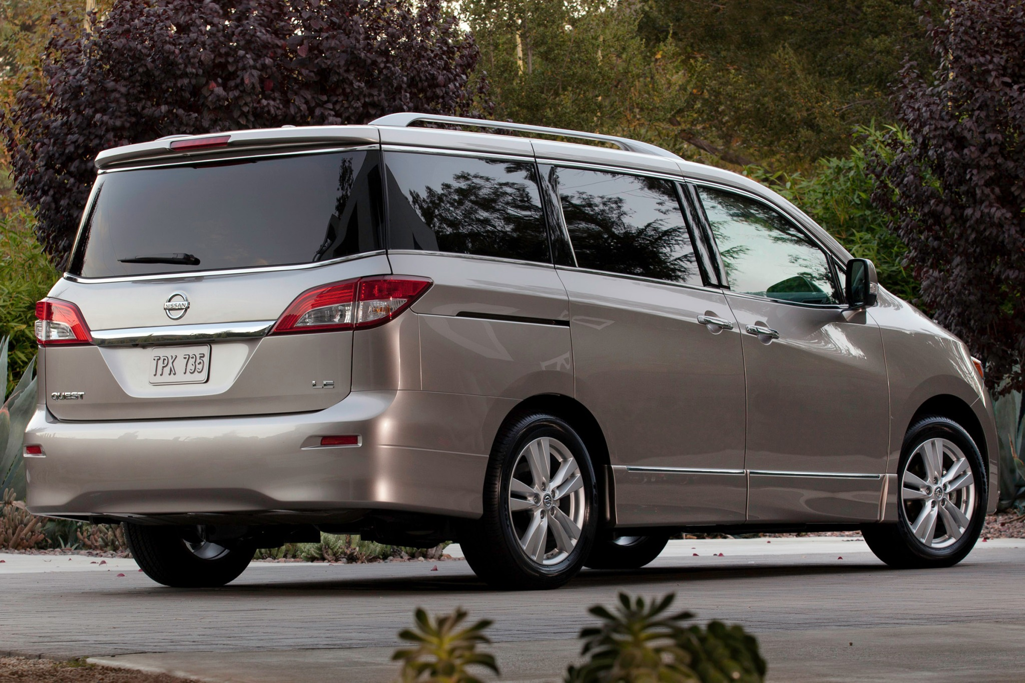 2012 Nissan Quest LE Pass interior #5