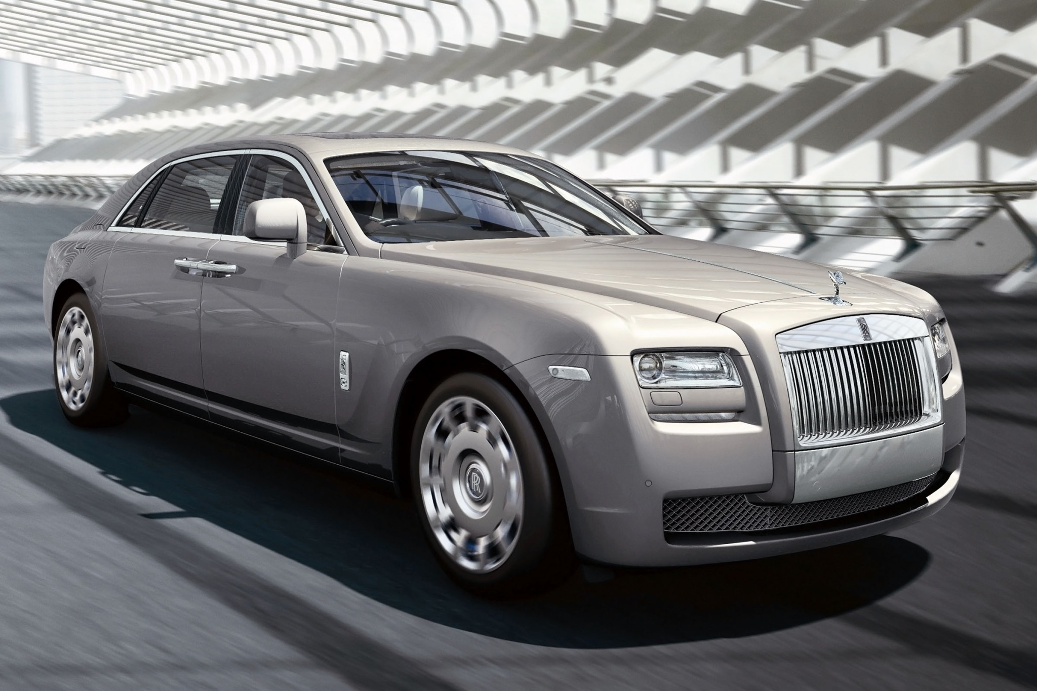 2012 Rolls-Royce Ghost EW interior #3