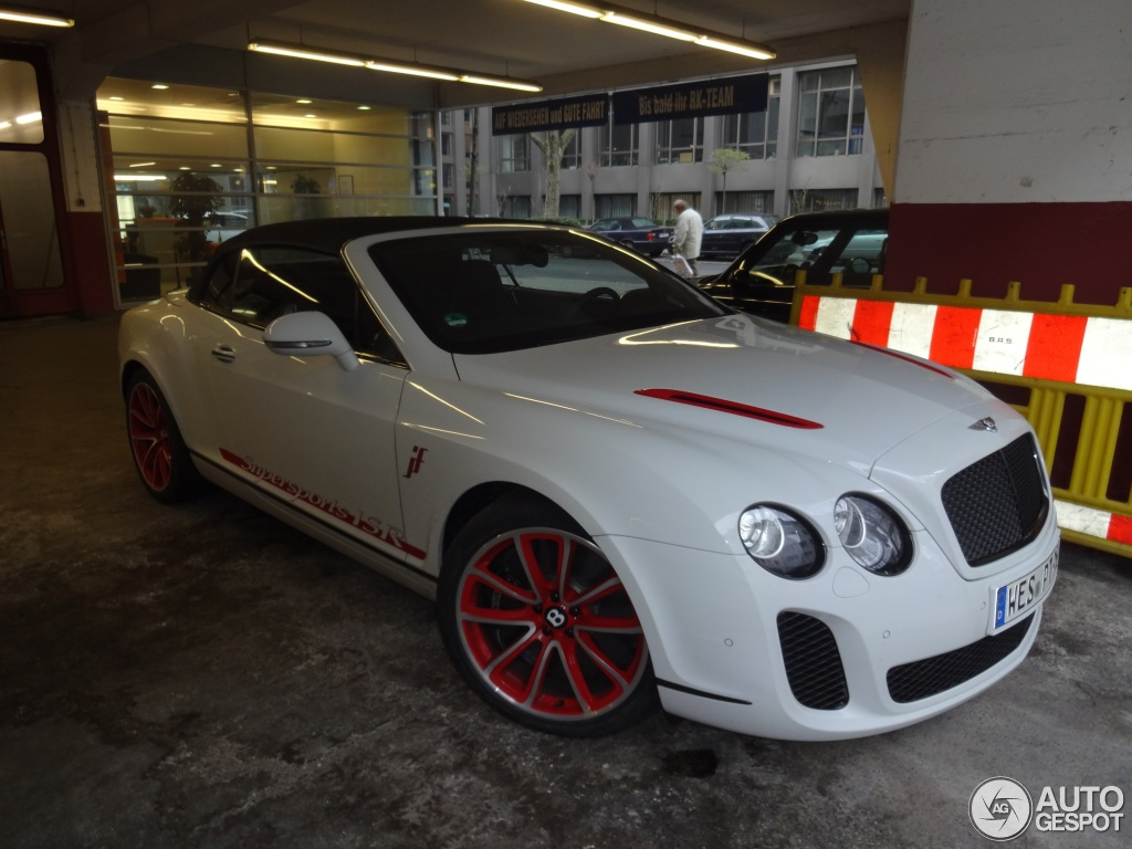 Bentley Supersports Convertible ISR #18