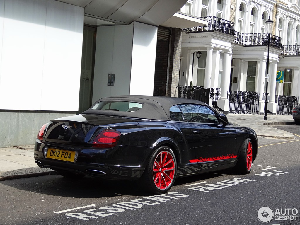 Bentley Supersports Convertible ISR #12