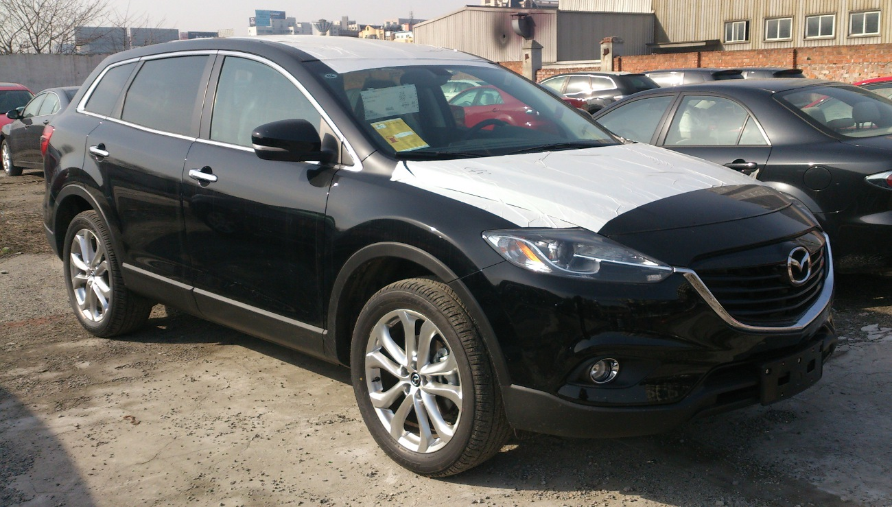 2013 mazda cx 9 information and photos zombiedrive. Black Bedroom Furniture Sets. Home Design Ideas