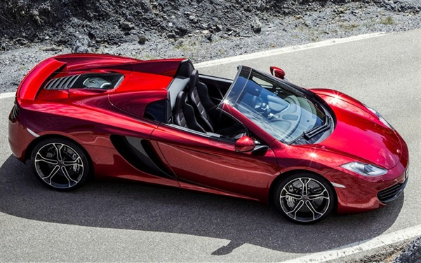 2013 MCLAREN MP4 12C SPIDER  STUNNING COLOR AND FEATURES   Image #5
