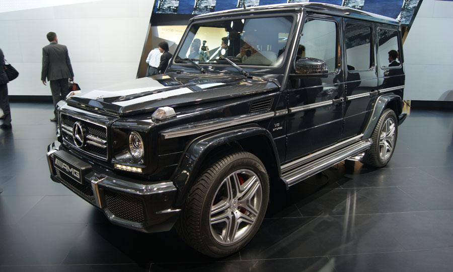 Image Gallery 2013 Mercedes G500
