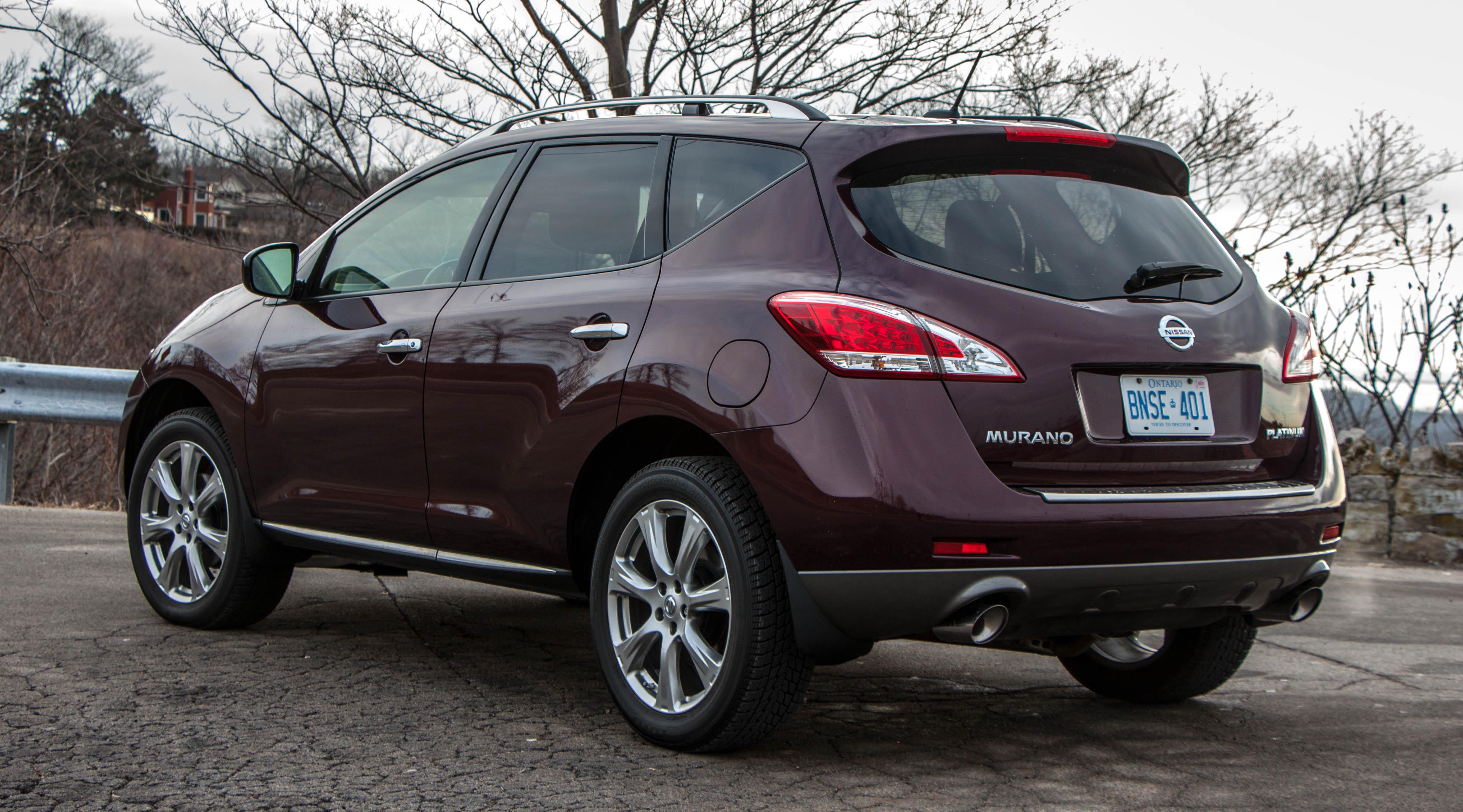 Nissan Murano Platinum >> 2013 NISSAN MURANO - Image #10
