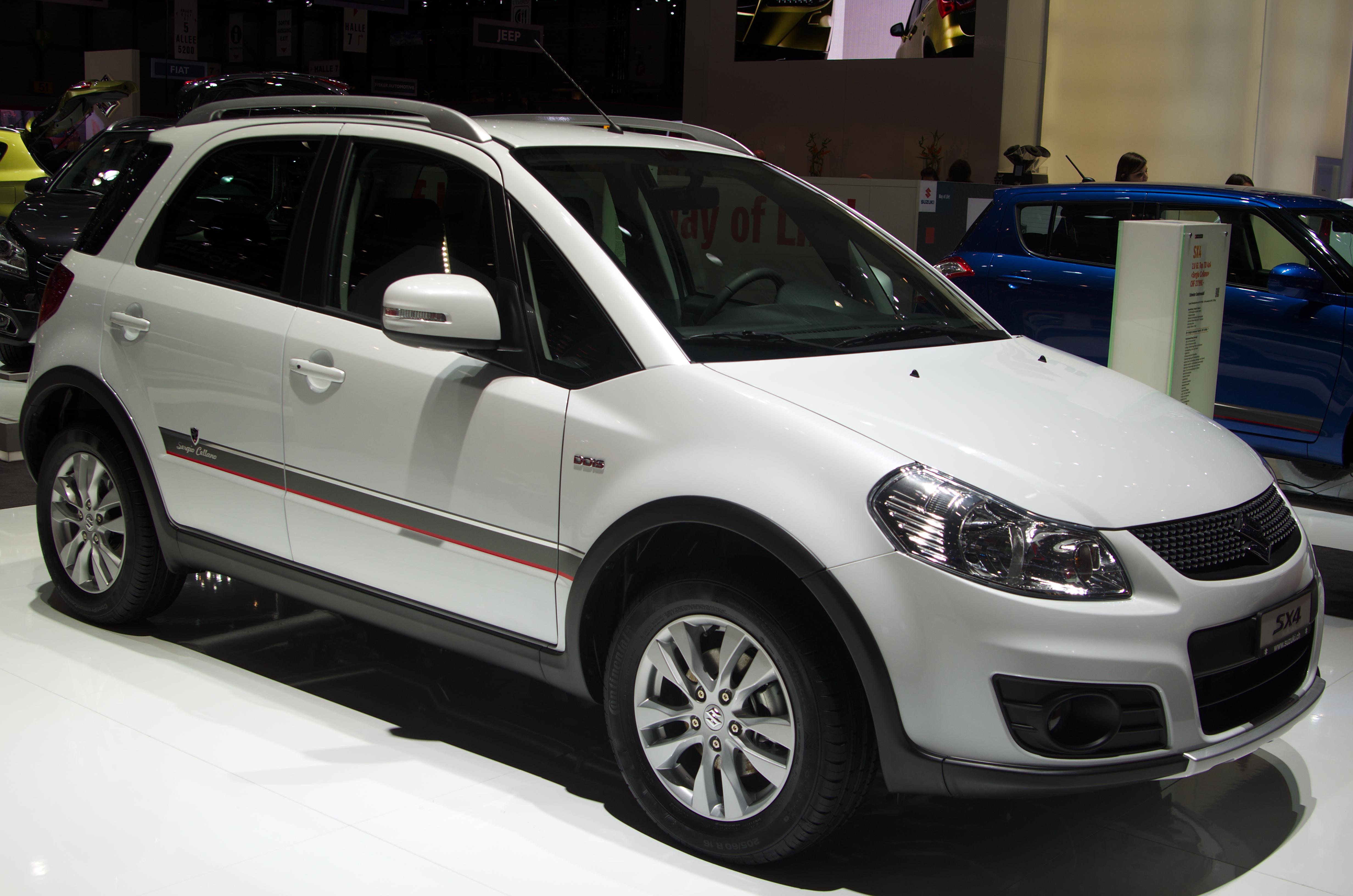 2013 Suzuki SX4 - Information and photos - Zomb Drive