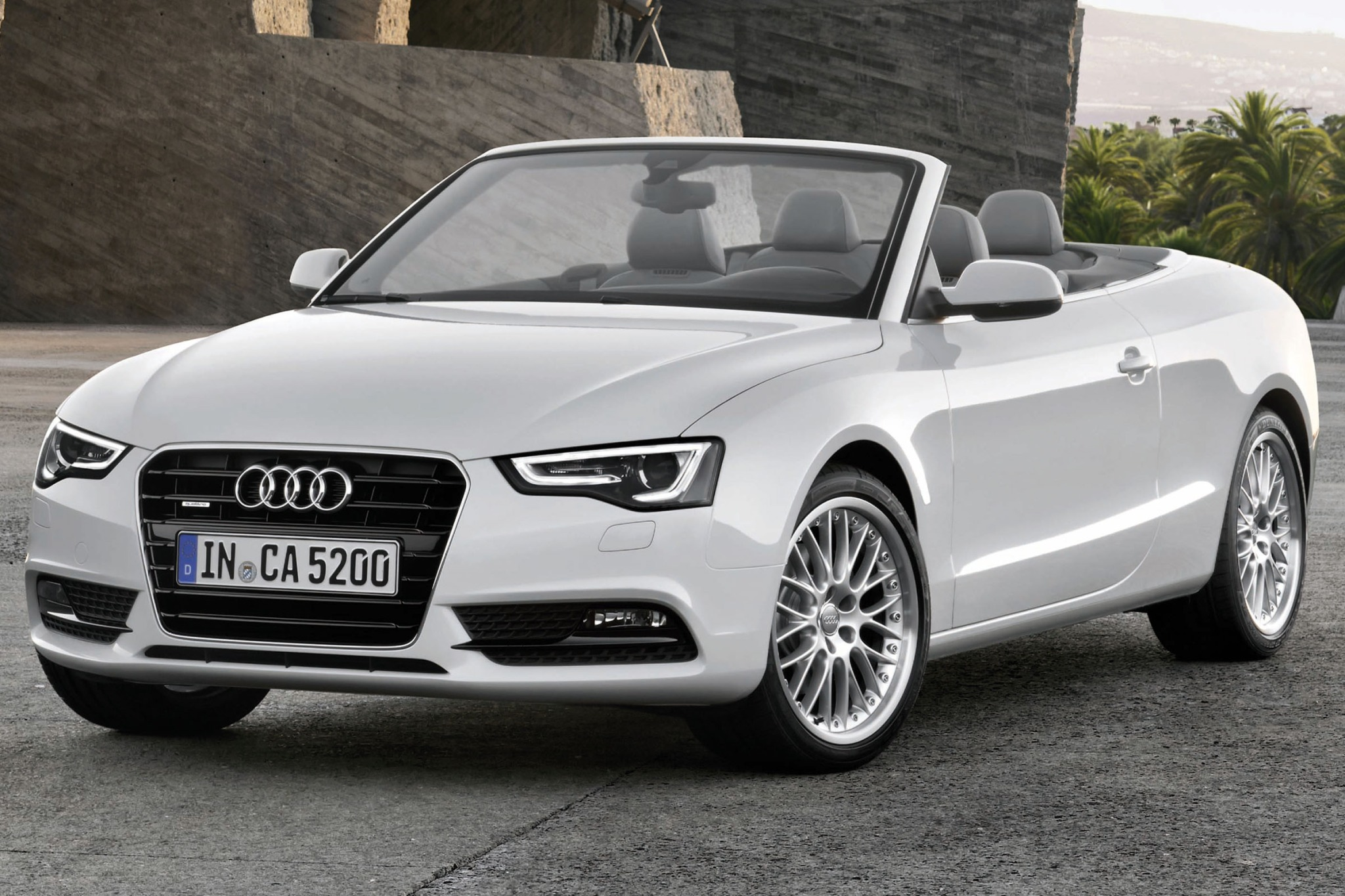 cars cabriolet uk the new audi convertible side