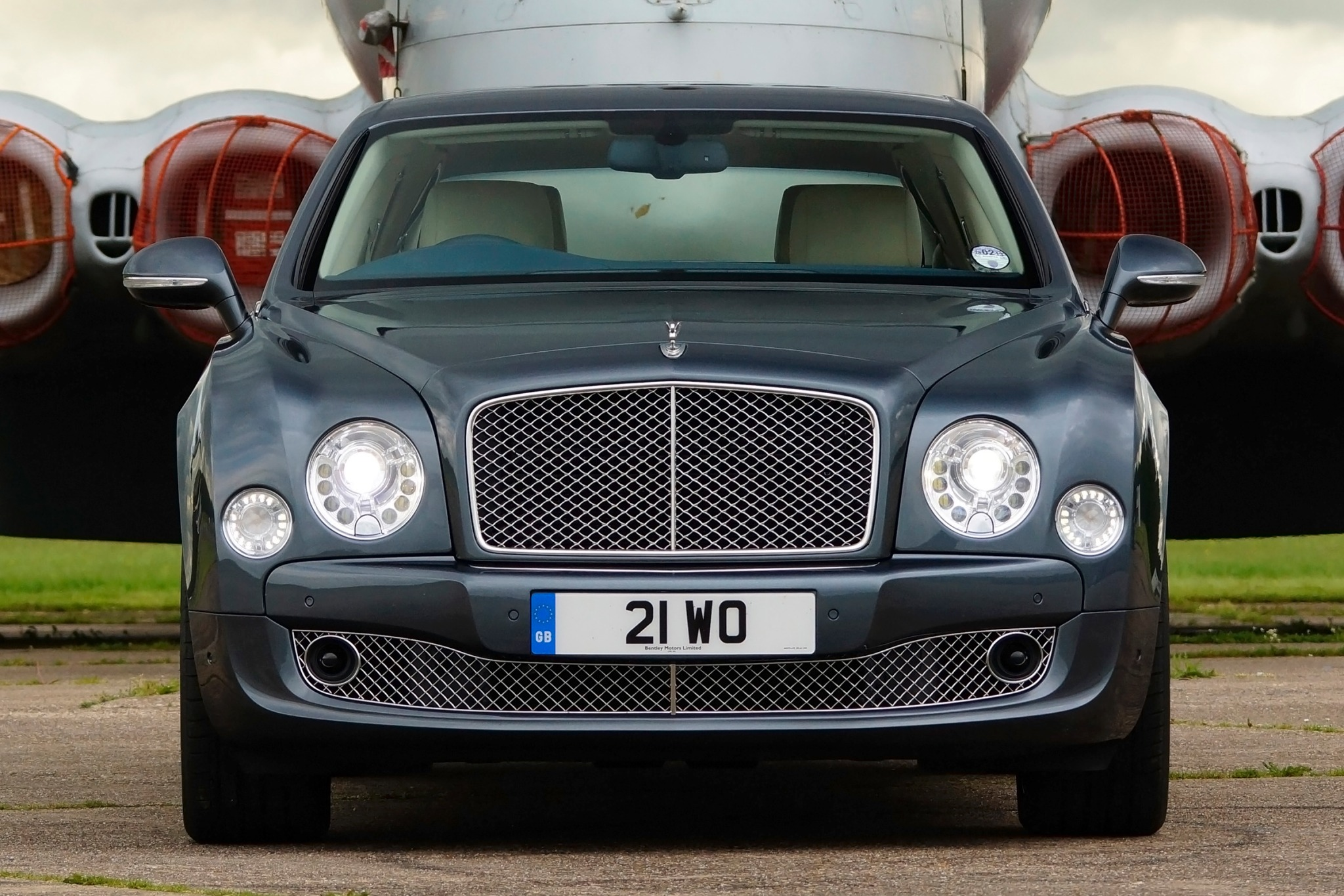 2013 Bentley Mulsanne Sed interior #7