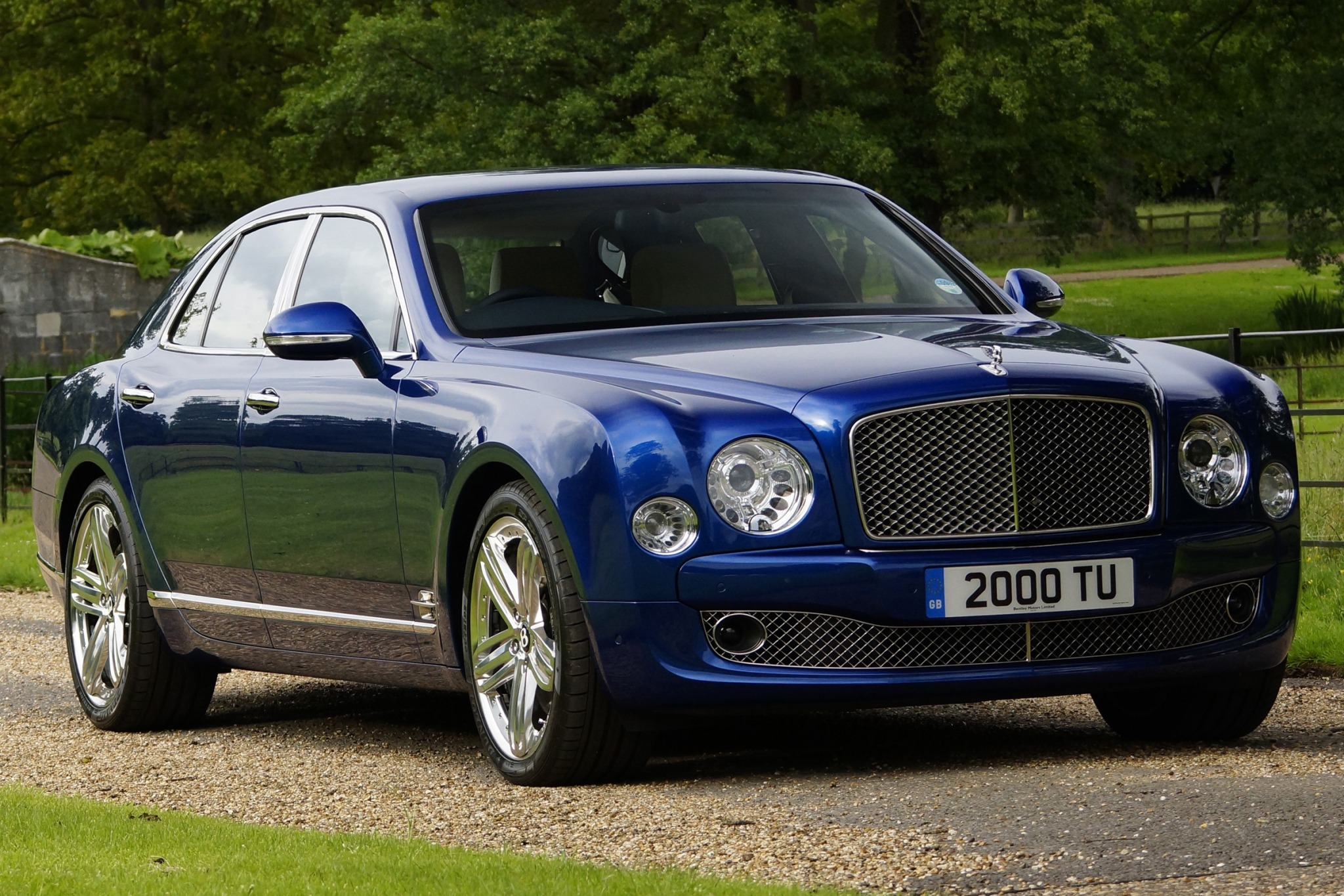 2013 Bentley Mulsanne Sed interior #3