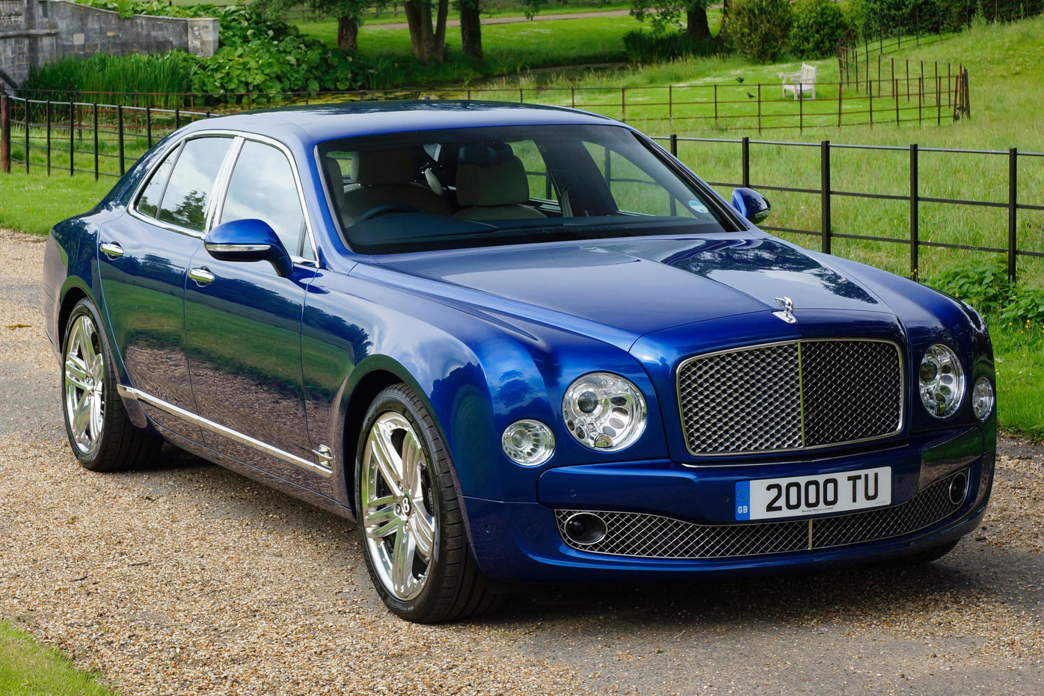 2013 Bentley Mulsanne Sed interior #1