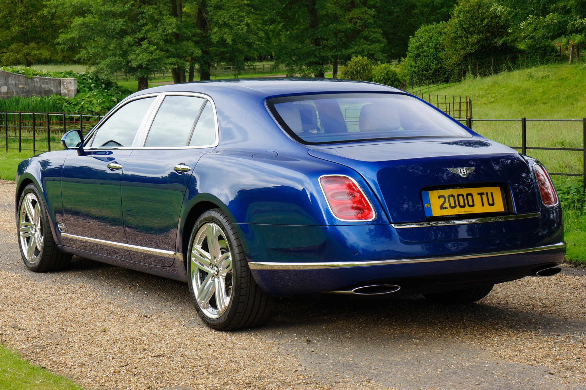 2013 Bentley Mulsanne Sed interior #5