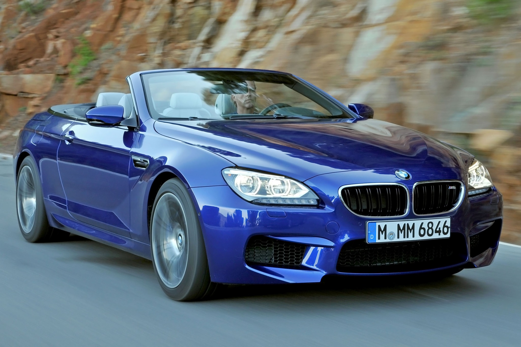 2013 BMW M6 Convertible D interior #5