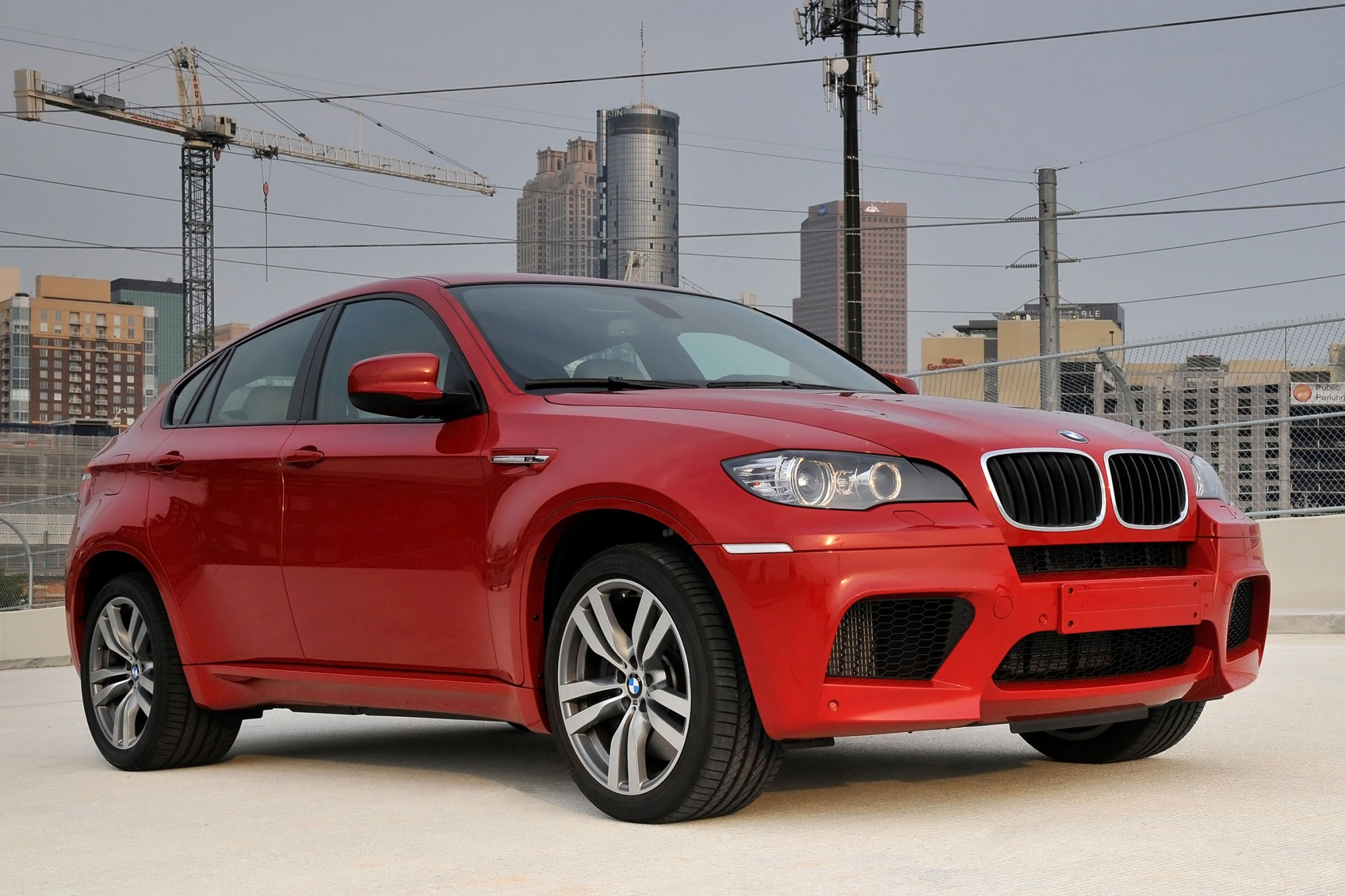 2012 BMW X6 M Gauge Clust interior #5