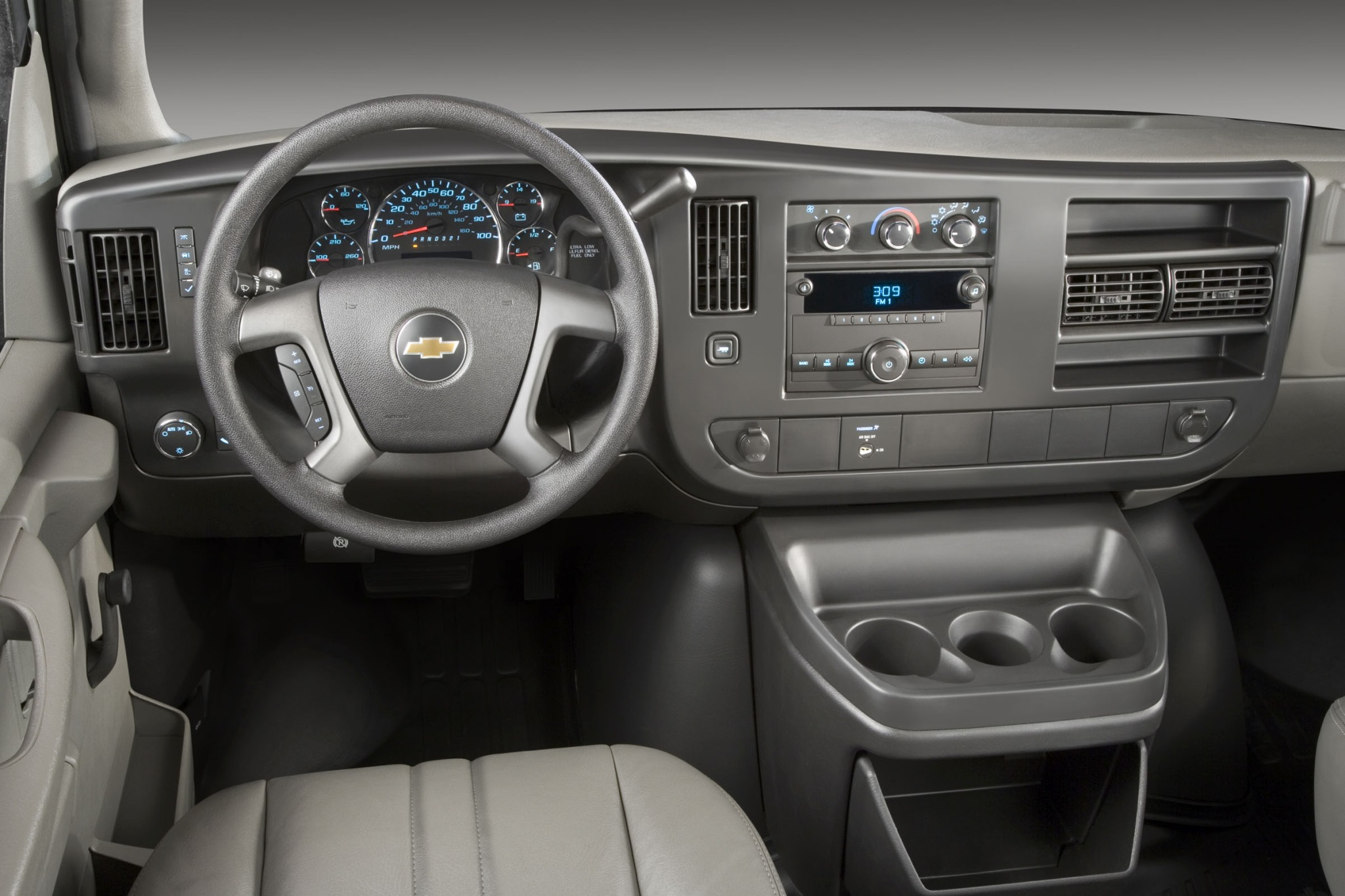 2013 Chevrolet Express LS interior #2