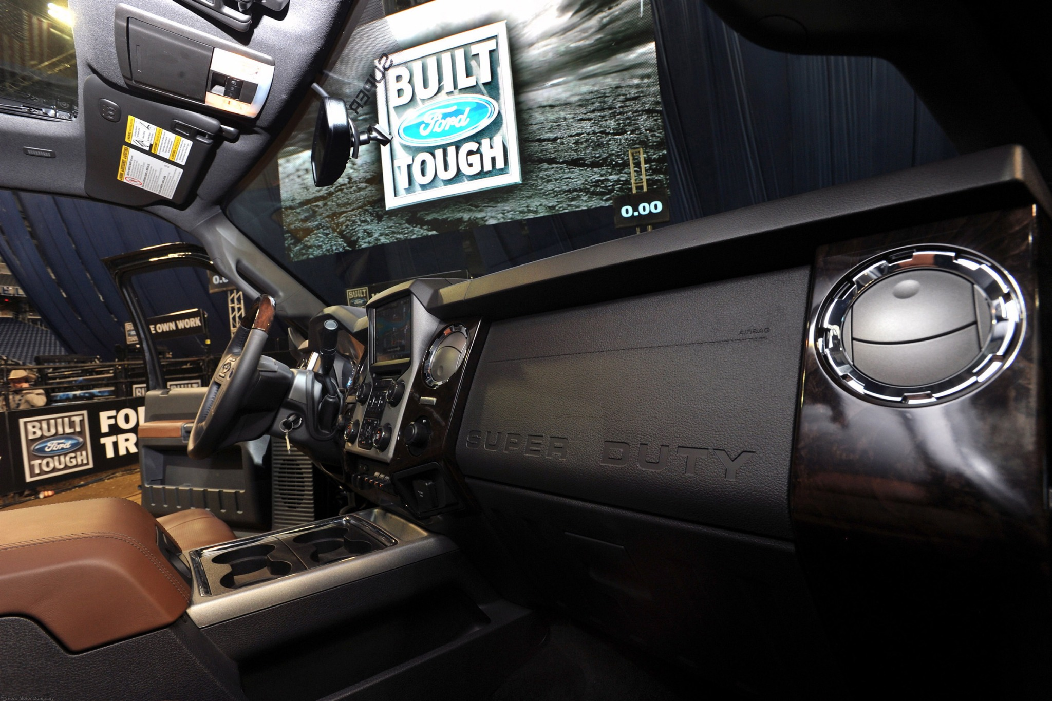 2013 Ford F-350 Super Dut interior #7