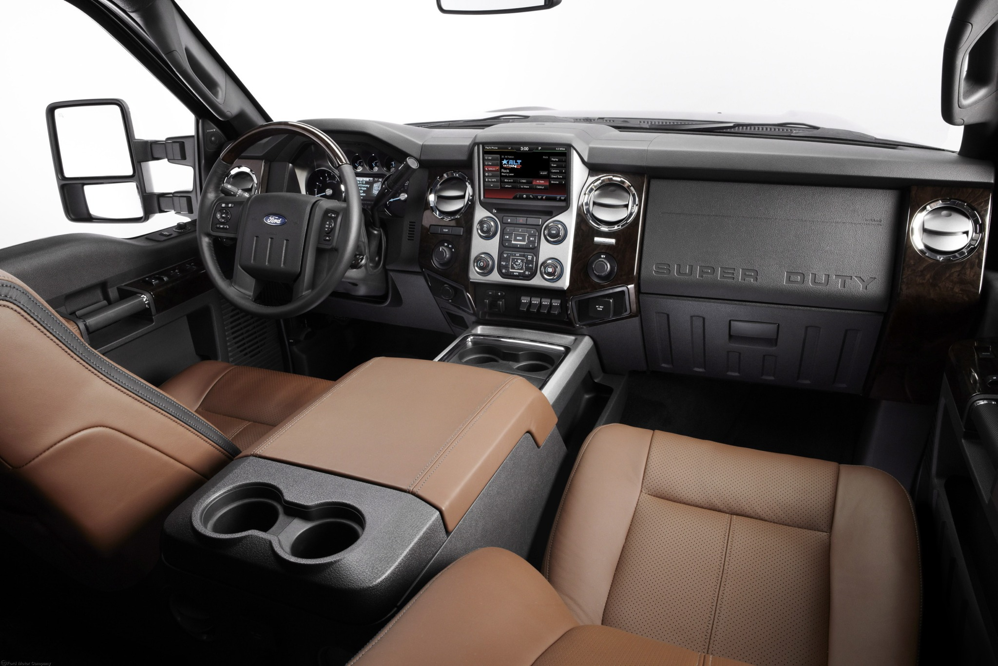 2013 Ford F-350 Super Dut interior #3