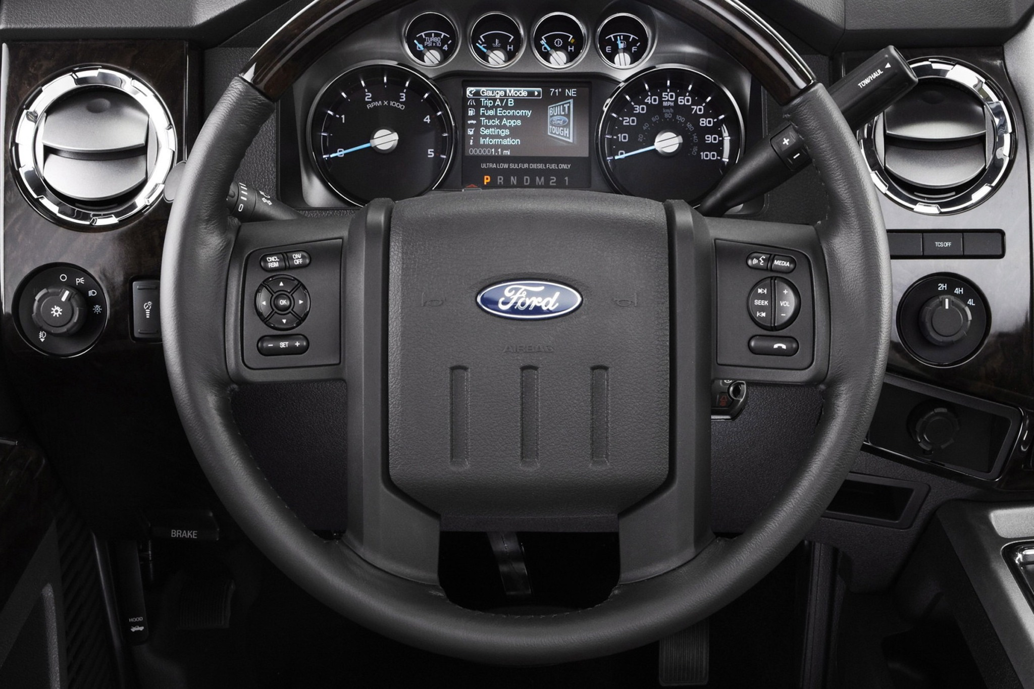2013 Ford F-350 Super Dut interior #5