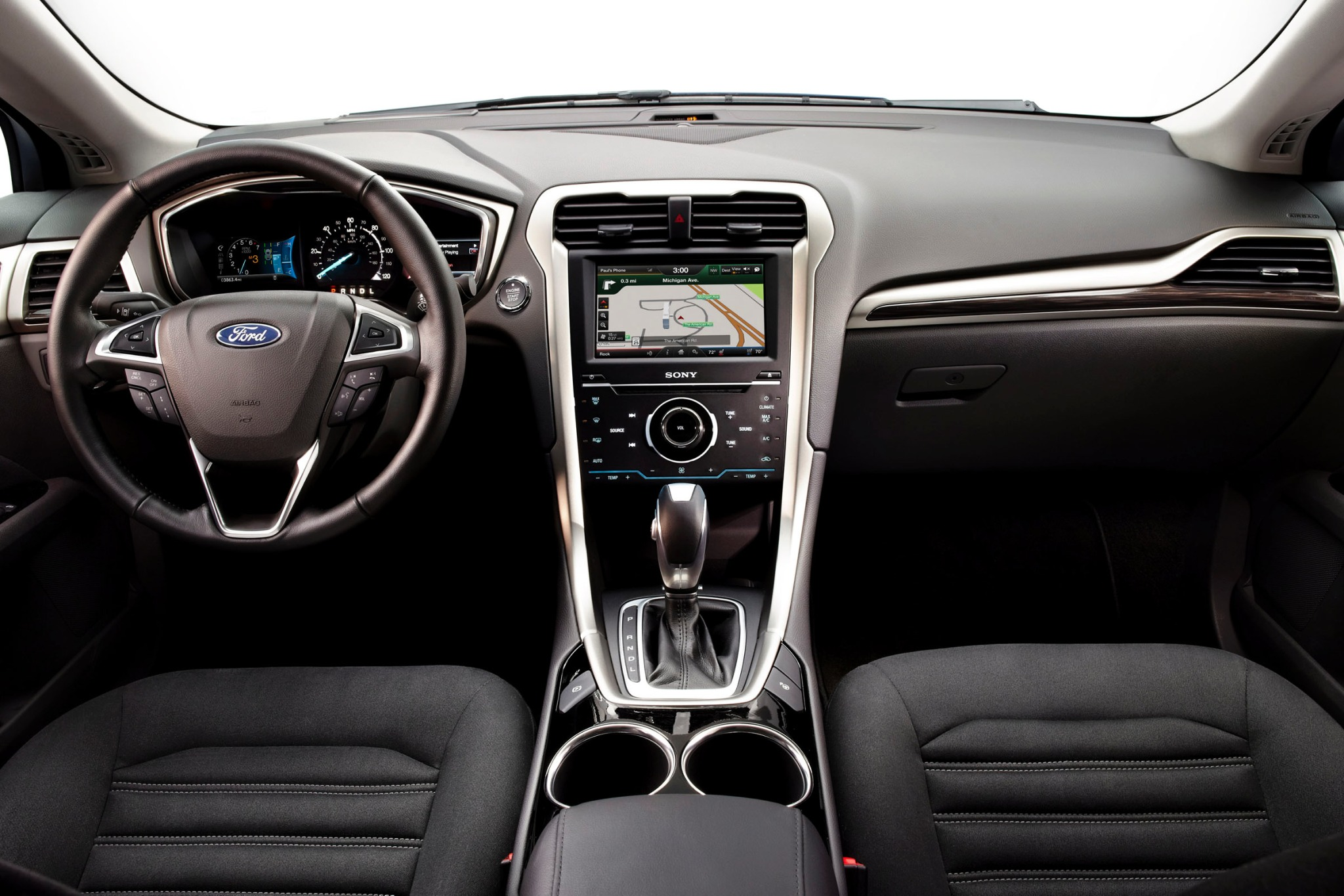 2013 Ford Fusion Hybrid S interior #8