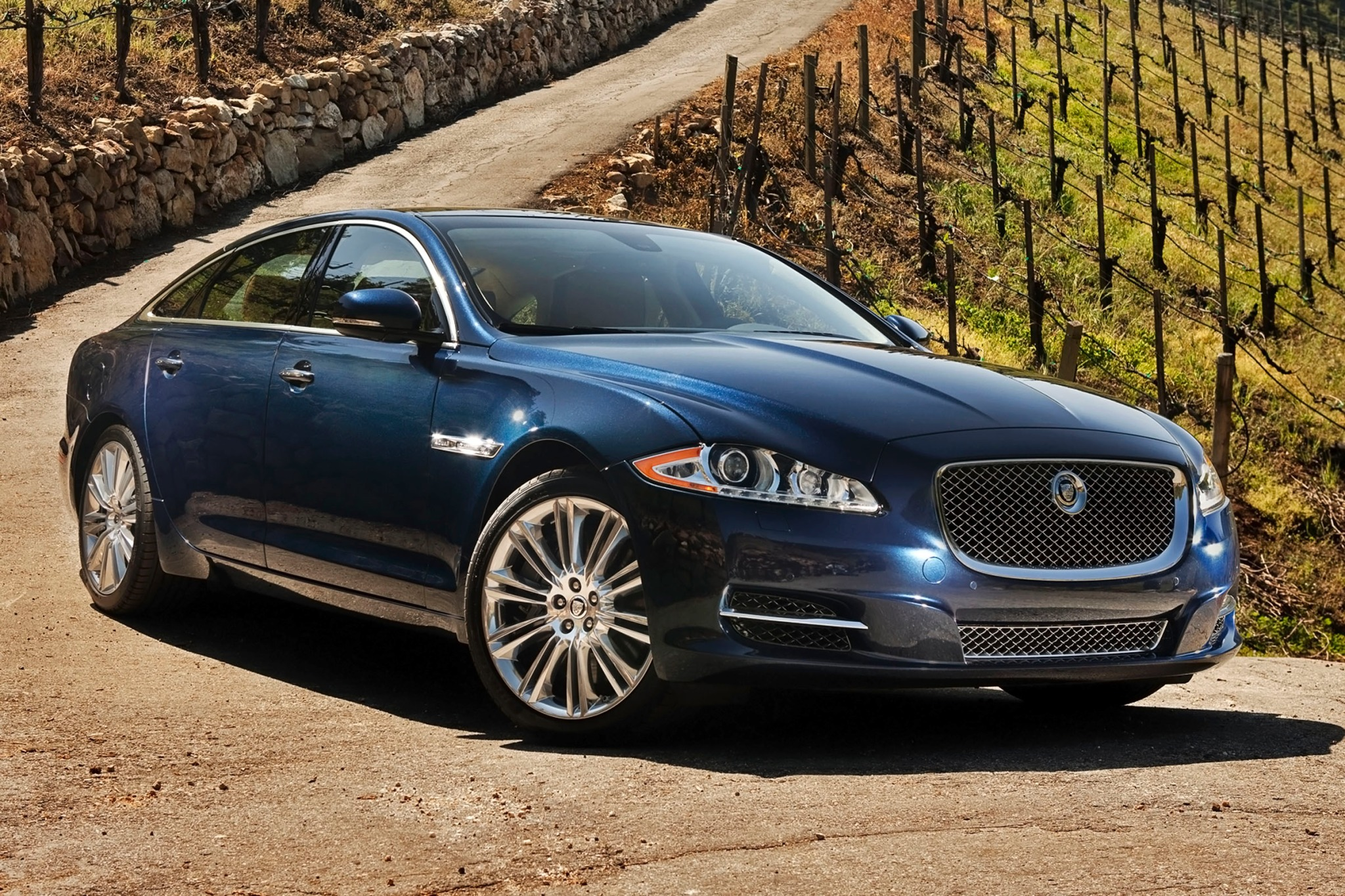 2013 Jaguar XJ Supercharg interior #2