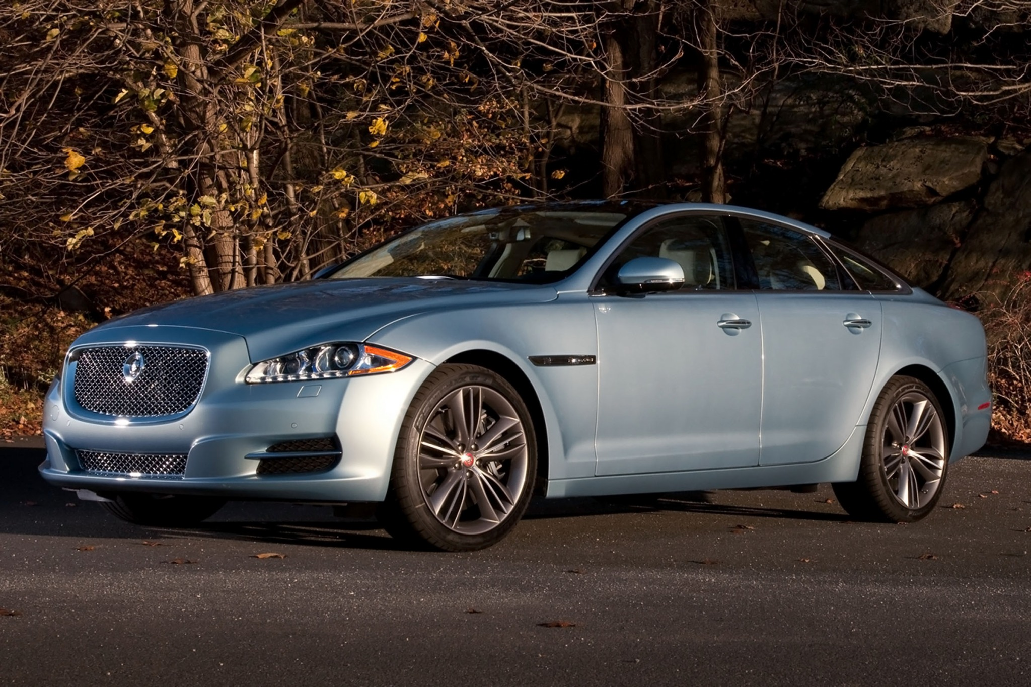 2013 Jaguar XJ Supercharg interior #3