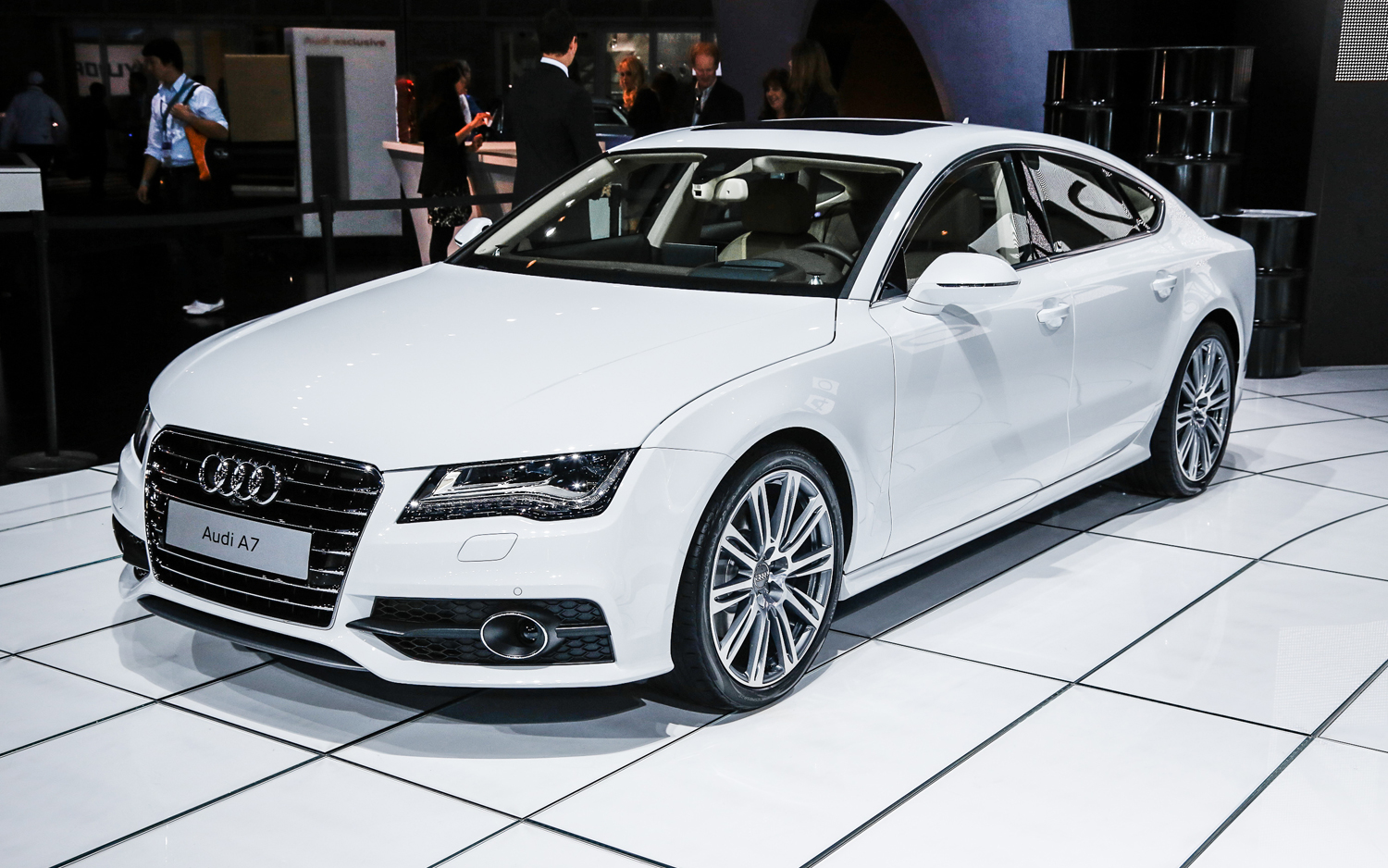 2014 audi a6 information and photos zombiedrive. Black Bedroom Furniture Sets. Home Design Ideas