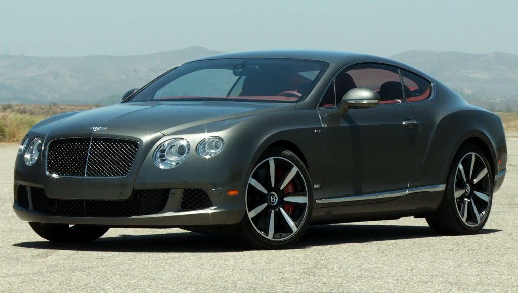 автомобиль bentley continental