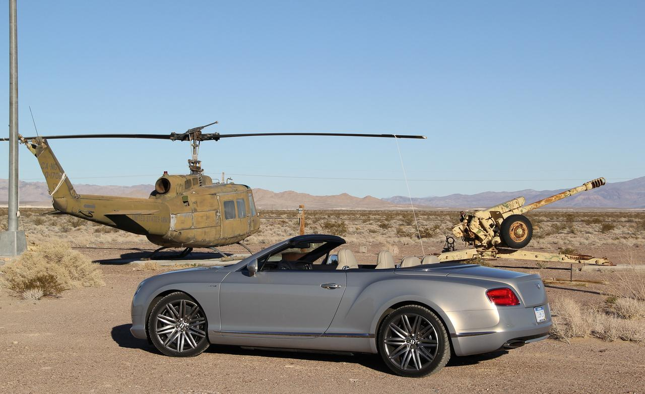 Bentley Continental GT Speed Convertible #12