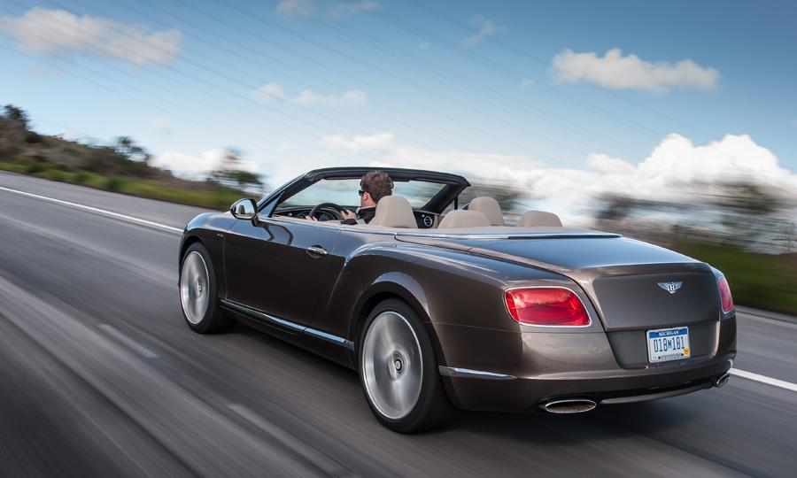 Bentley Continental GT Speed Convertible #14