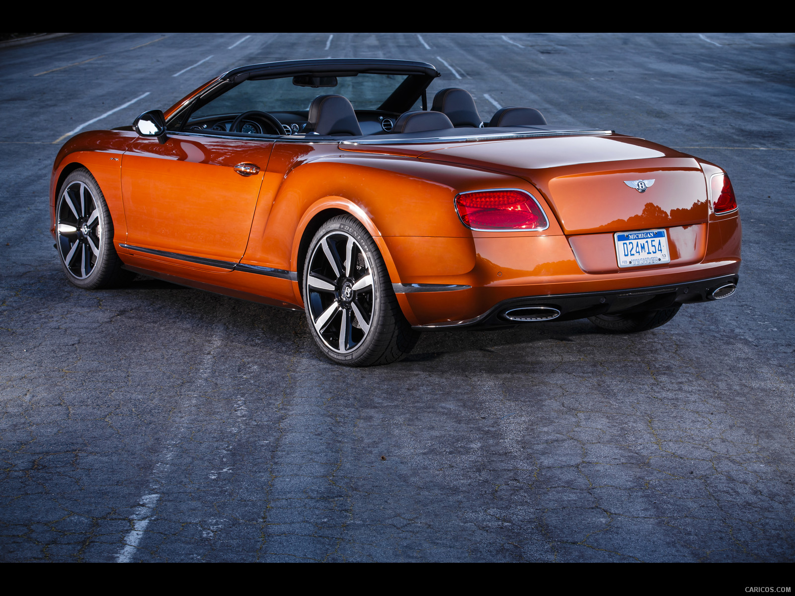 Bentley Continental GT Speed Convertible #11