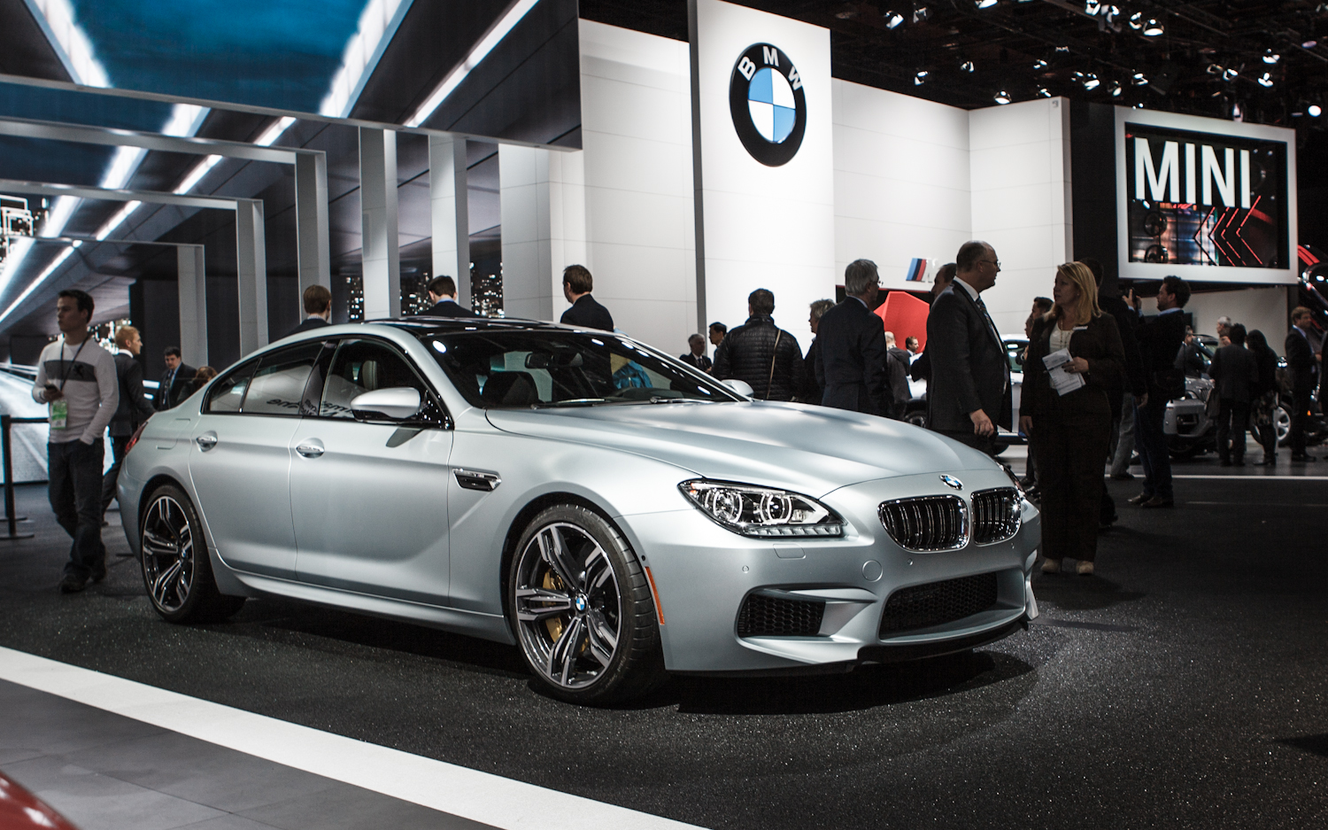2014 BMW M6 Gran Coupe #6