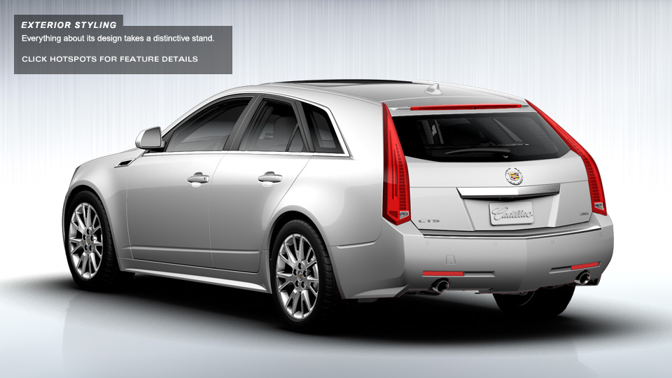 2014 cadillac cts wagon information and photos zombiedrive. Black Bedroom Furniture Sets. Home Design Ideas