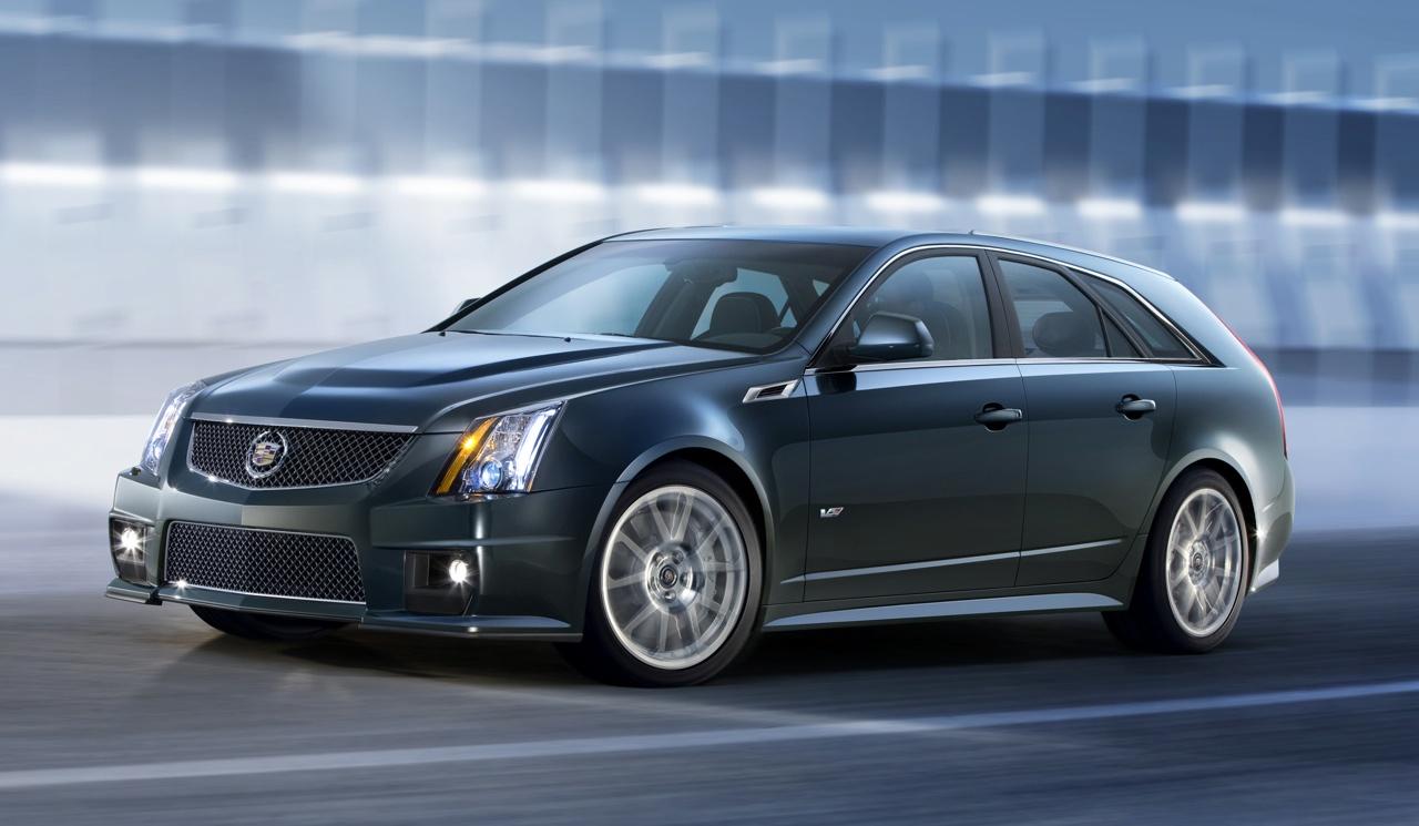2014 Cadillac Cts V Wagon Image 5