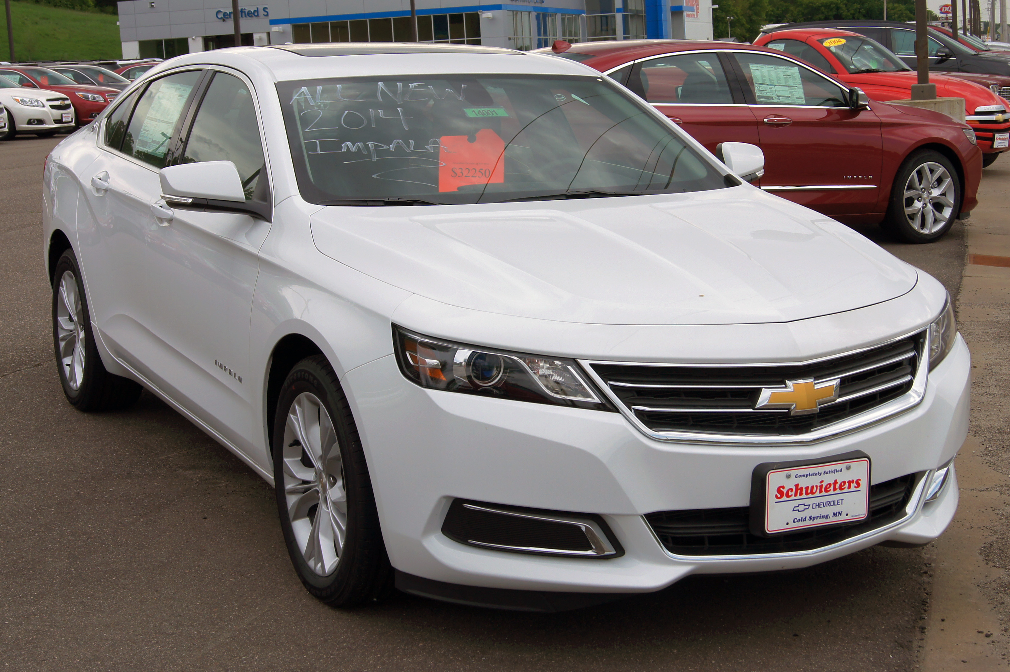 2014 Chevrolet Impala Limited Information and photos ZombieDrive