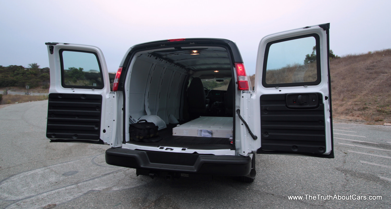 2014 Gmc Savana Cargo Information And Photos Zombiedrive